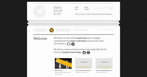 zhc.com.au HTML5 and CSS 3 inspiration showcase site